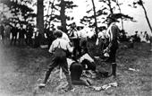 Foto do Acampamento da Ilha de Brownsea - 1907